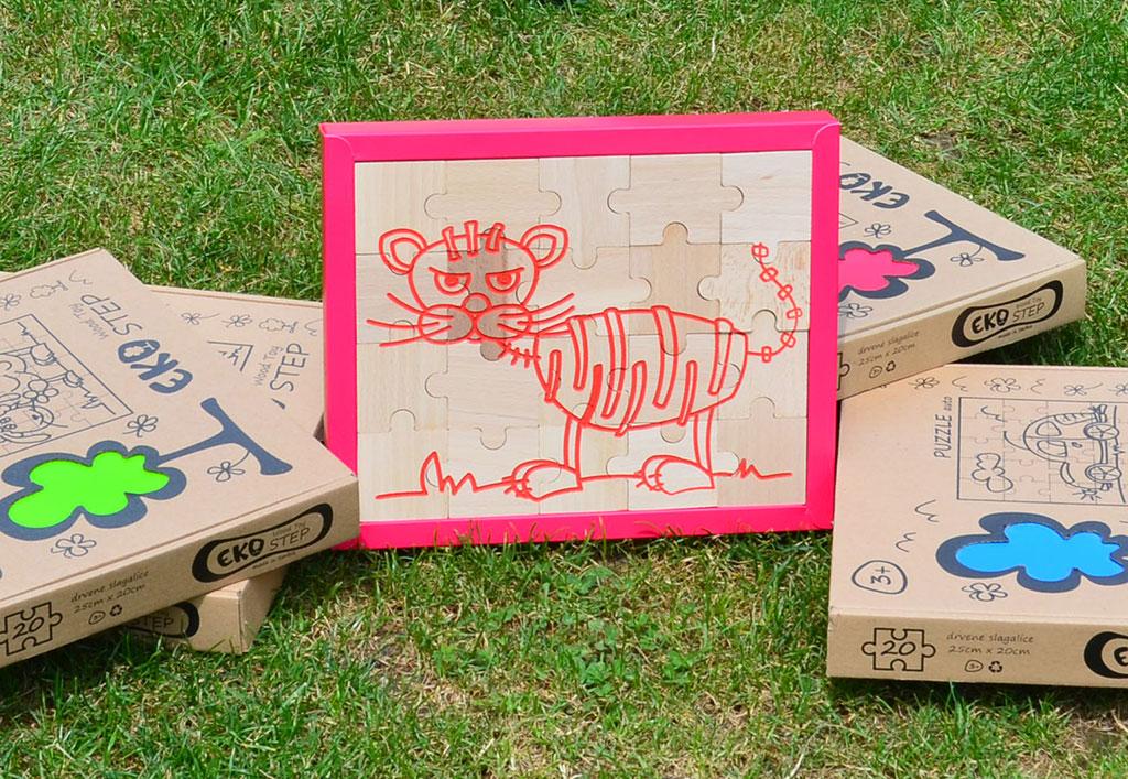 Puzzle - tigar